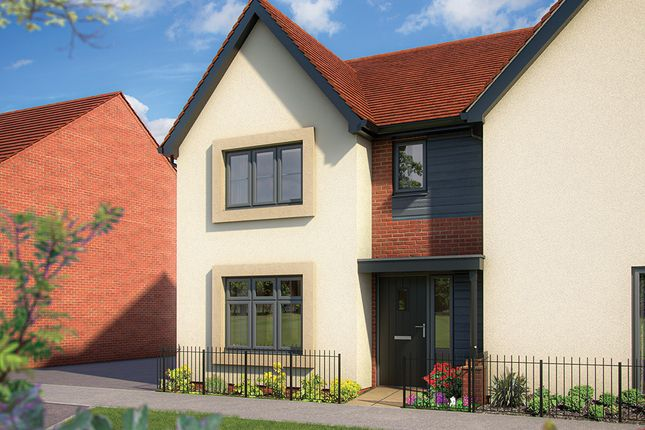 """Thumbnail 3 bed semi-detached house for sale in """"The Cypress"""" at Limousin Avenue, Whitehouse, Milton Keynes"""