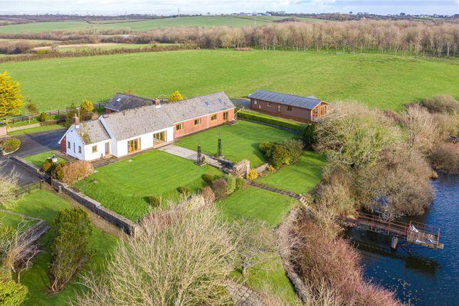 Thumbnail Detached bungalow for sale in The Kilns, Kiln Road, Johnston, Pembrokeshire