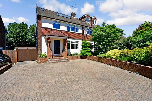 Thumbnail Semi-detached house for sale in Squires Close, Strood, Rochester, Kent