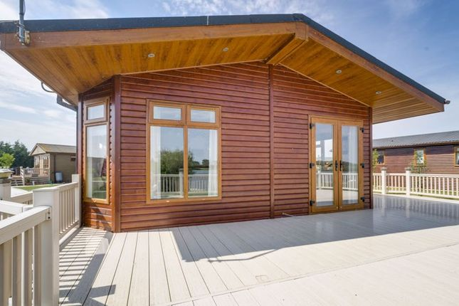 Thumbnail Lodge for sale in Woodward Lakes & Lodges, Holme Wood Lane, Armthorpe