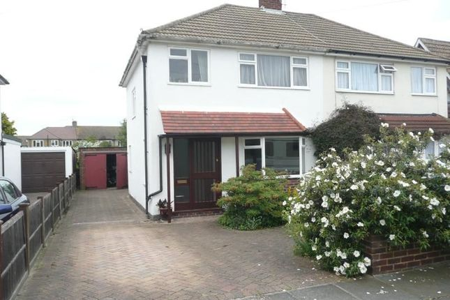 Thumbnail Semi-detached house to rent in Ringwood Way, Hampton Hill, Hampton