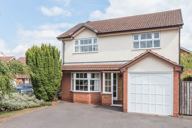 Thumbnail Detached house for sale in Moorfield Avenue, Knowle, Solihull