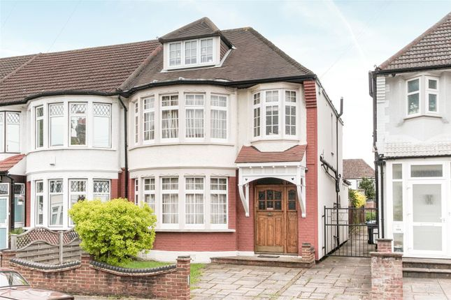 Thumbnail Semi-detached house to rent in Upsdell Avenue, Palmers Green