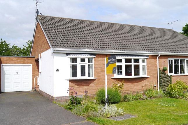 Thumbnail Semi-detached bungalow to rent in Fairney Edge, Ponteland, Newcastle Upon Tyne