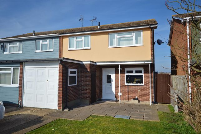 Thumbnail Semi-detached house for sale in Pickers Way, Clacton-On-Sea