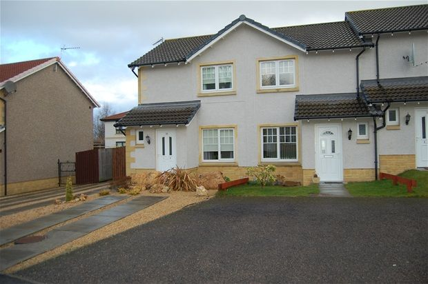 Thumbnail Terraced house for sale in Marleon Field, Elgin