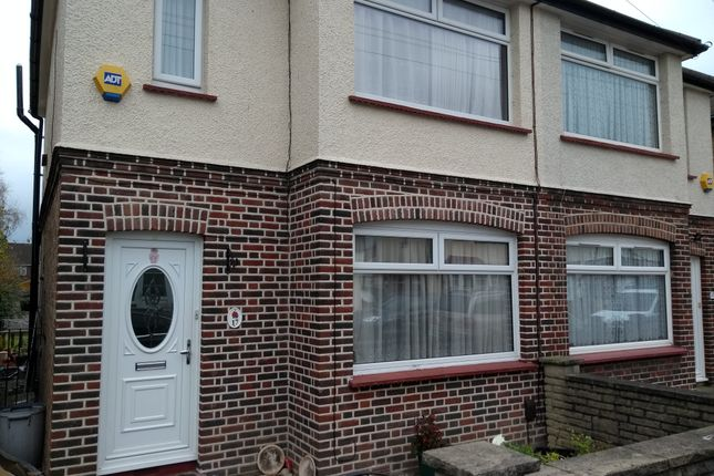 Thumbnail Semi-detached house to rent in Craigwell Avenue, Feltham