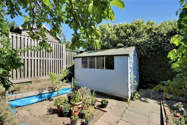 Rear Garden of Central Avenue, Findon Valley, Worthing, West Sussex BN14