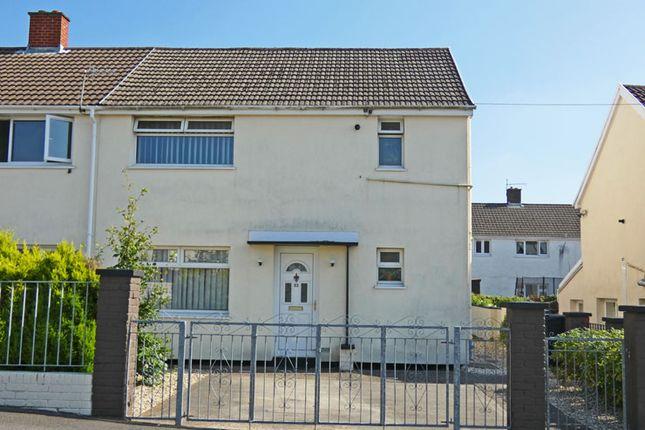 Thumbnail Semi-detached house for sale in West View Crescent, Trelewis, Treharris