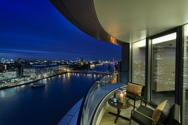 Thumbnail Flat for sale in The Corniche, Albert Embankment
