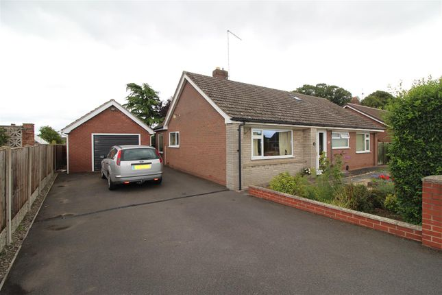 Thumbnail Detached bungalow for sale in Marlcroft, Wem, Shropshire