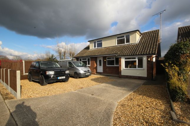 Thumbnail Detached bungalow for sale in Longmoore Avenue, Chelmsford