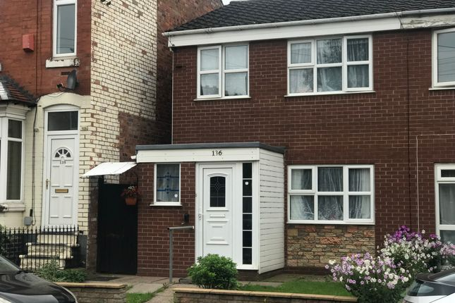 Thumbnail Semi-detached house to rent in Wigorn Road, Bearwood, Smethwick