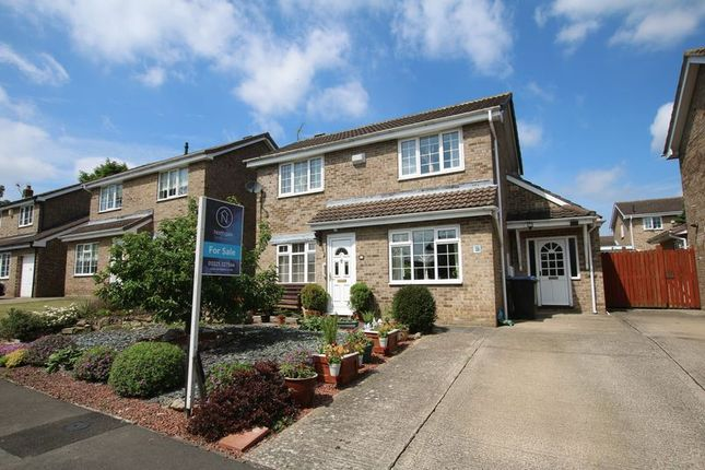 Thumbnail Detached house for sale in Bramham Chase, Newton Aycliffe
