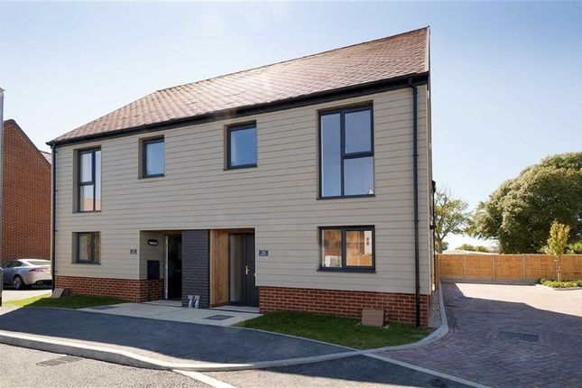 Thumbnail Semi-detached house for sale in Military Road, Folkestone, Kent