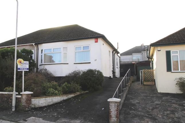 Thumbnail Semi-detached bungalow for sale in Higher Mowles, Higher Compton, Plymouth