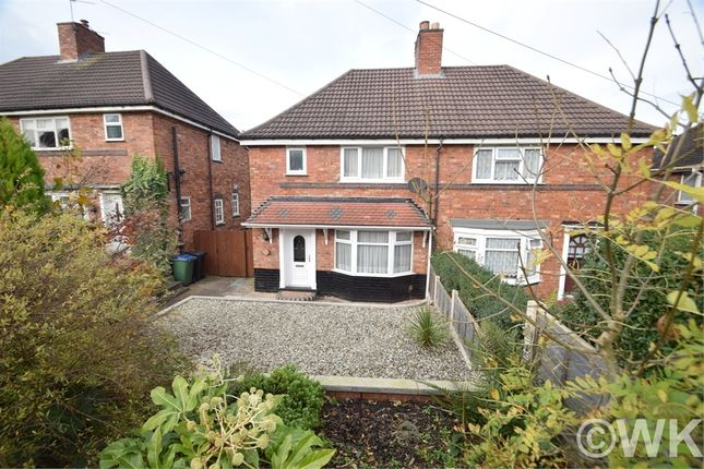 Thumbnail Semi-detached house to rent in Asbury Road, Wednesbury, West Midlands