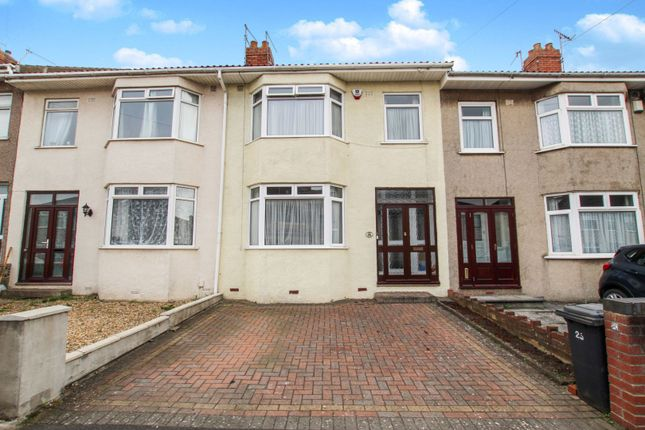 Thumbnail 3 bed terraced house for sale in Ilchester Crescent, Bedminster Down