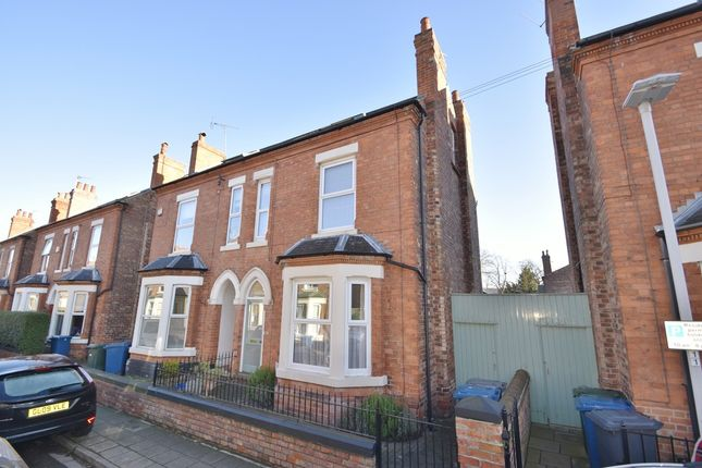 Thumbnail Semi-detached house for sale in Stratford Road, West Bridgford