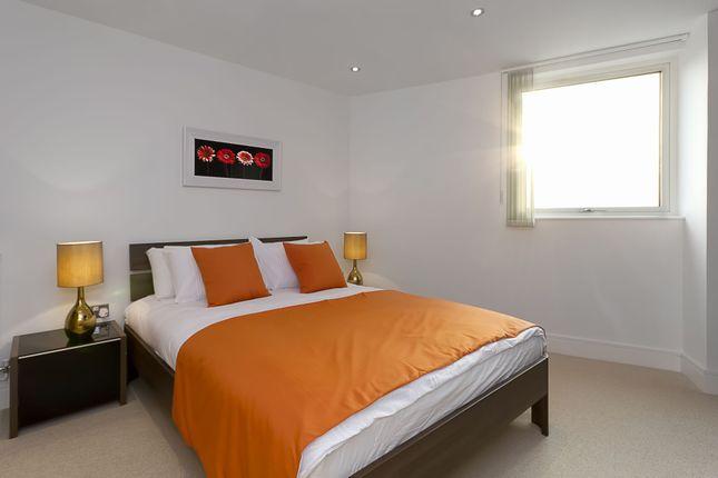 Master Bedroom of Admirals Tower, 8 Dowells Street, New Capital Quay, Greenwich, London SE10