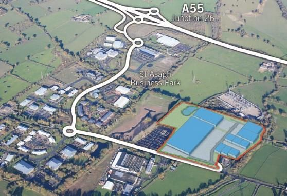 Thumbnail Land for sale in Vista, Glascoed Road, St Asaph Business Park, St Asaph