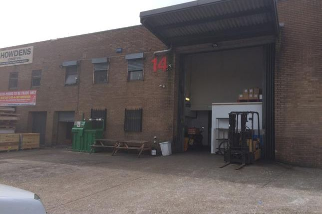 Thumbnail Light industrial to let in Unit 14 Thomas Road Industrial Estate, Thomas Road, London