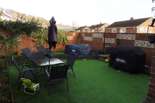 Enclosed Garden of Meadow View, Worsbrough S70