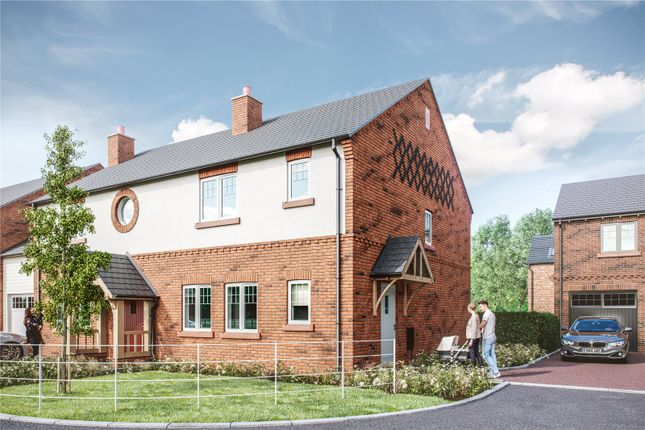 Thumbnail Semi-detached house for sale in Belgrave Garden Mews, Wrexham Road, Pulford, Chester