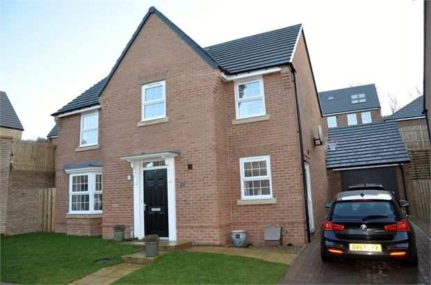 Thumbnail Detached house for sale in Hornbeam Crescent, Woodlands Rise, Hexham, Northumberland.