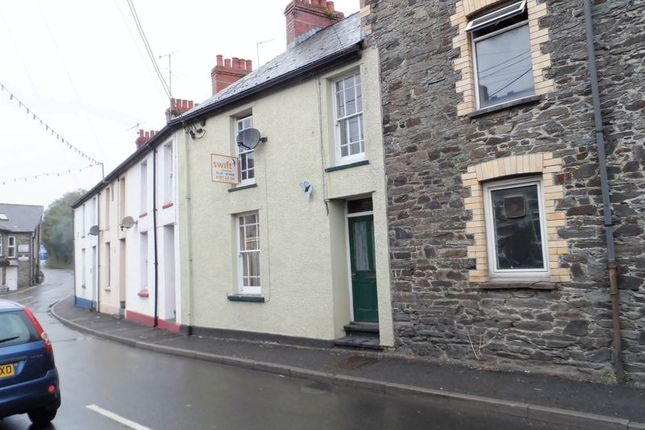Thumbnail Terraced house to rent in Lewis Street, Pontwelly, Llandysul