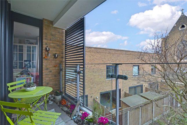 Balcony of Howarth House, 125 Pelton Road, Greenwich, London SE10