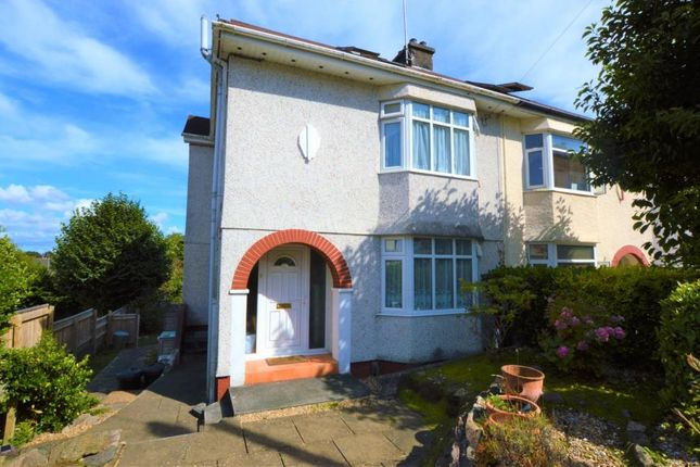Thumbnail Semi-detached house for sale in Homer Park, Saltash, Cornwall
