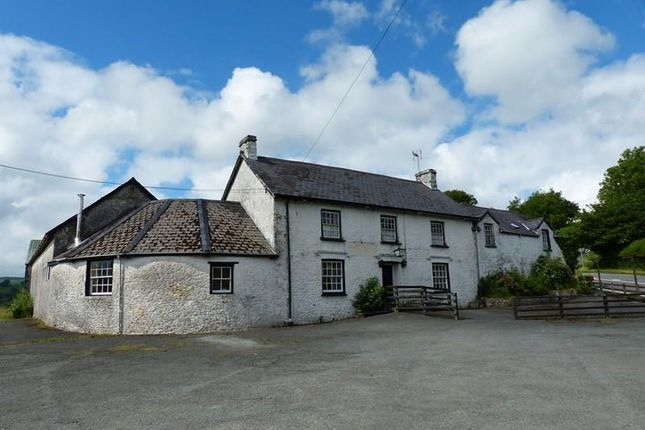 Thumbnail Detached house for sale in Cynghordy, Llandovery