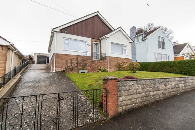 Thumbnail Detached bungalow for sale in Oakdene Way, Gilwern, Abergavenny