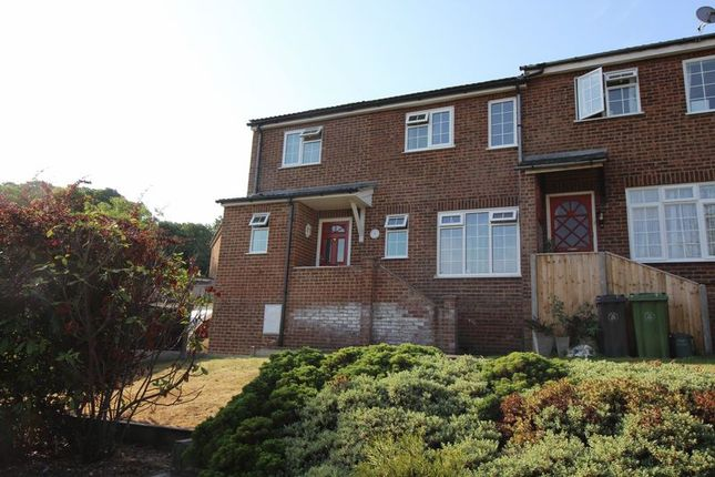 Thumbnail End terrace house to rent in Broughton Mews, Frimley, Camberley