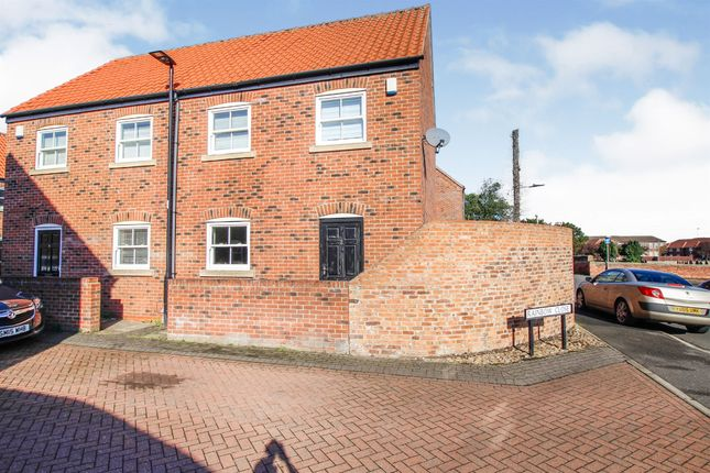 Thumbnail Semi-detached house for sale in Rainbow Close, Thorne, Doncaster