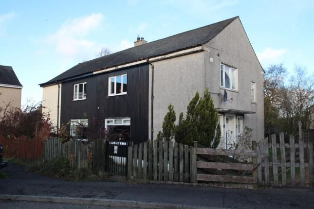 Thumbnail Semi-detached house for sale in The Crescent, Upperton, Airdrie, North Lanarkshire