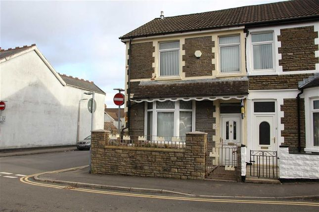 Thumbnail End terrace house for sale in Ludlow Street, Caerphilly