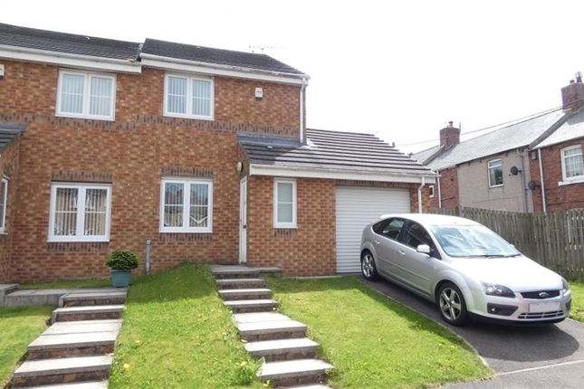 Thumbnail Semi-detached house to rent in The Woodlands, Langley Park, Durham
