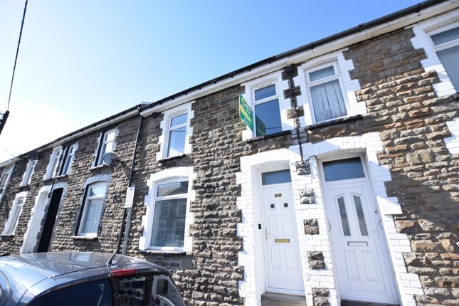 Thumbnail Terraced house for sale in Francis Street, Bargoed