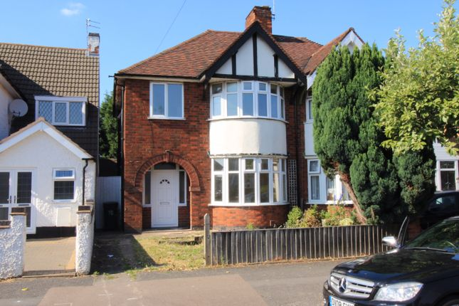 Thumbnail Semi-detached house to rent in Evington Drive, Evington, Leicester