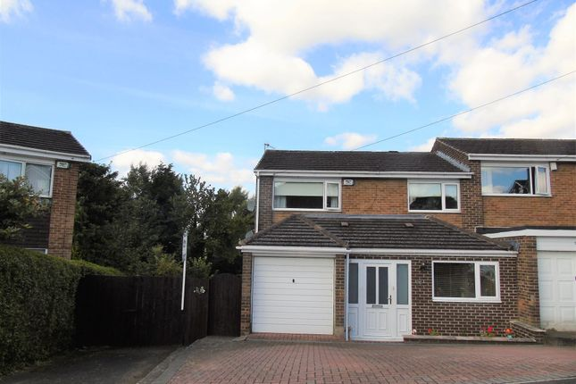 Thumbnail Semi-detached house for sale in Bywell Close, Ryton