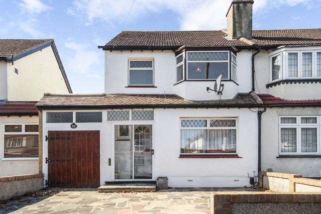 Thumbnail Semi-detached house for sale in Orchard Way, Sutton
