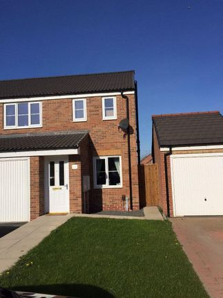Thumbnail Semi-detached house to rent in Vickers Lane, Hartlepool