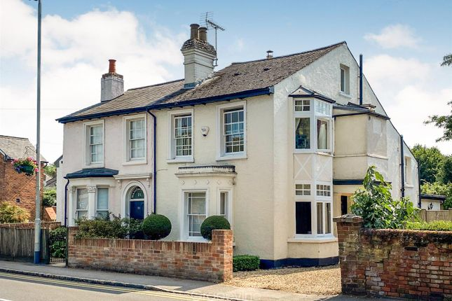 Thumbnail Semi-detached house for sale in Wargrave Road, Twyford, Reading