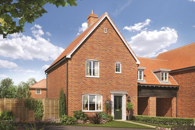 Thumbnail Link-detached house for sale in Talbot, Station Road, Campsea Ashe, Woodbridge