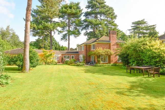 Thumbnail Detached house for sale in Farleton Close, Weybridge, Surrey