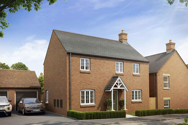 """Thumbnail Semi-detached house for sale in """"The Hartwell"""" at Heathencote, Towcester"""