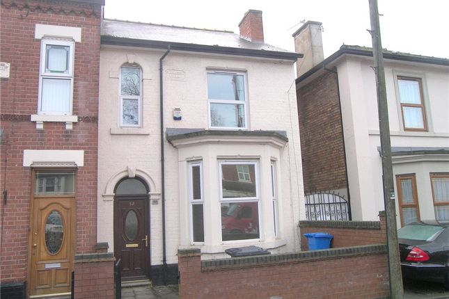 Thumbnail Terraced house to rent in Rosehill Street, Derby