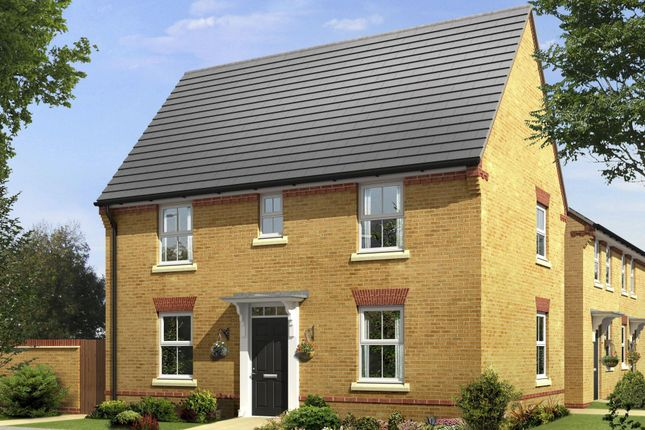 """Thumbnail Semi-detached house for sale in """"Hadley"""" at Nine Days Lane, Redditch"""